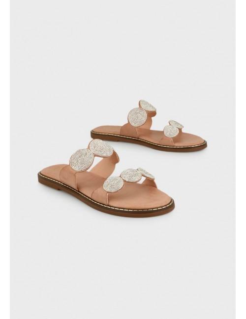 Γυναικείο παπούτσι flat EXE M47001121417   οικολογικό δέρμα  ΚΑΜΗΛΟ
